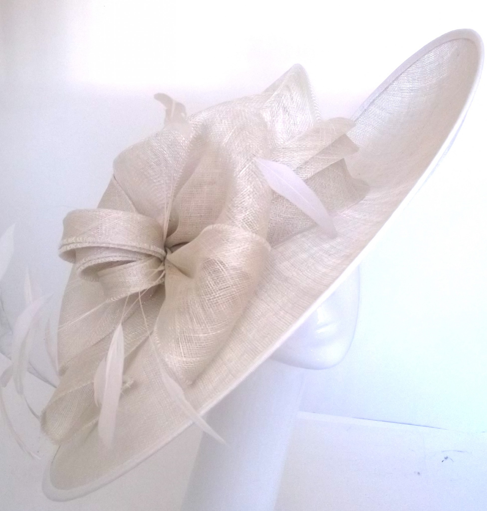 419bb993819bf Snoxell Gwyther - Occasion Hat (Ivory) - Occasion Hats | Wedding Hats