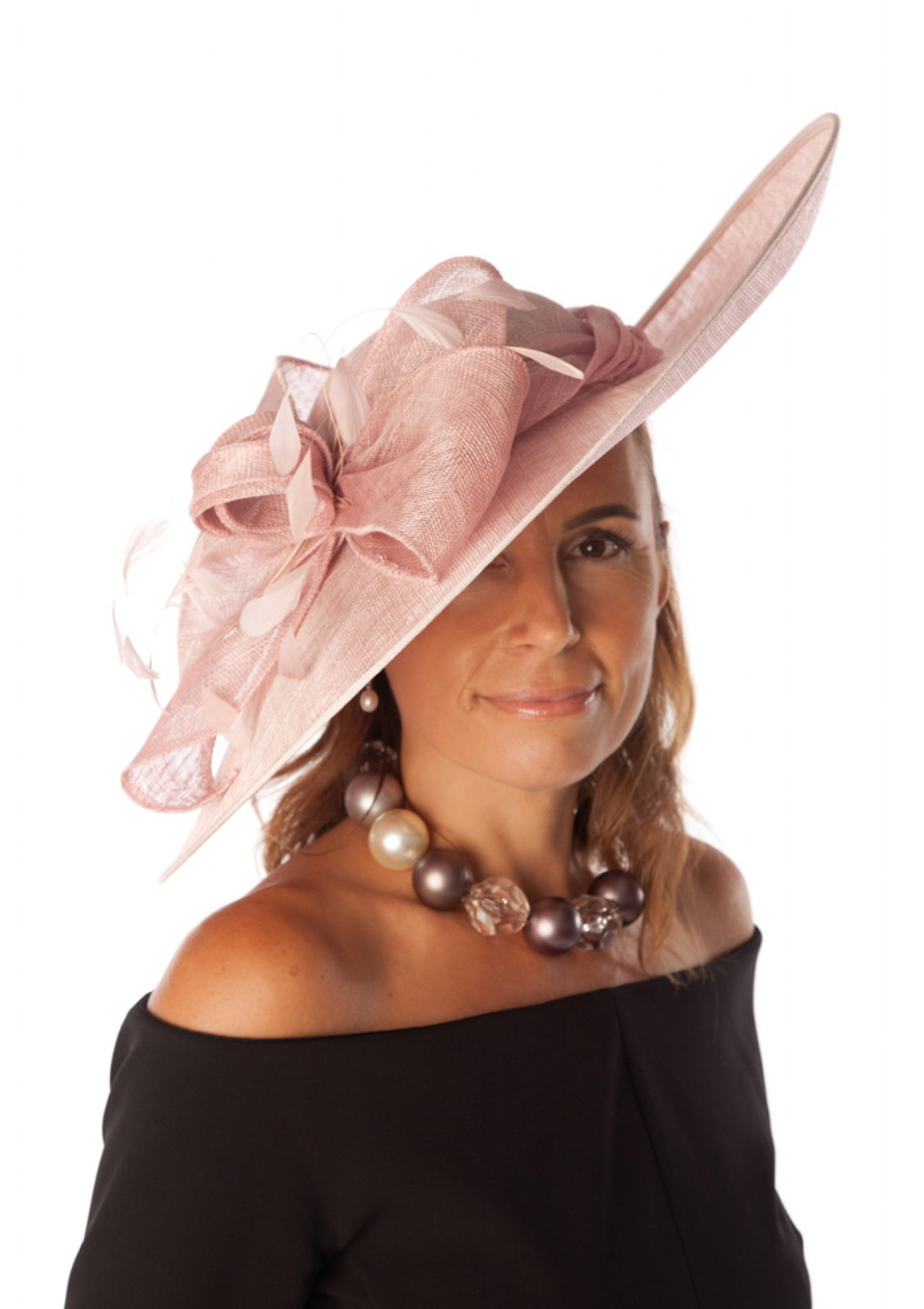 aeca03e43ab0c Snoxell Gwyther - Occasion Hat (Rose) - Occasion Hats | Wedding Hats