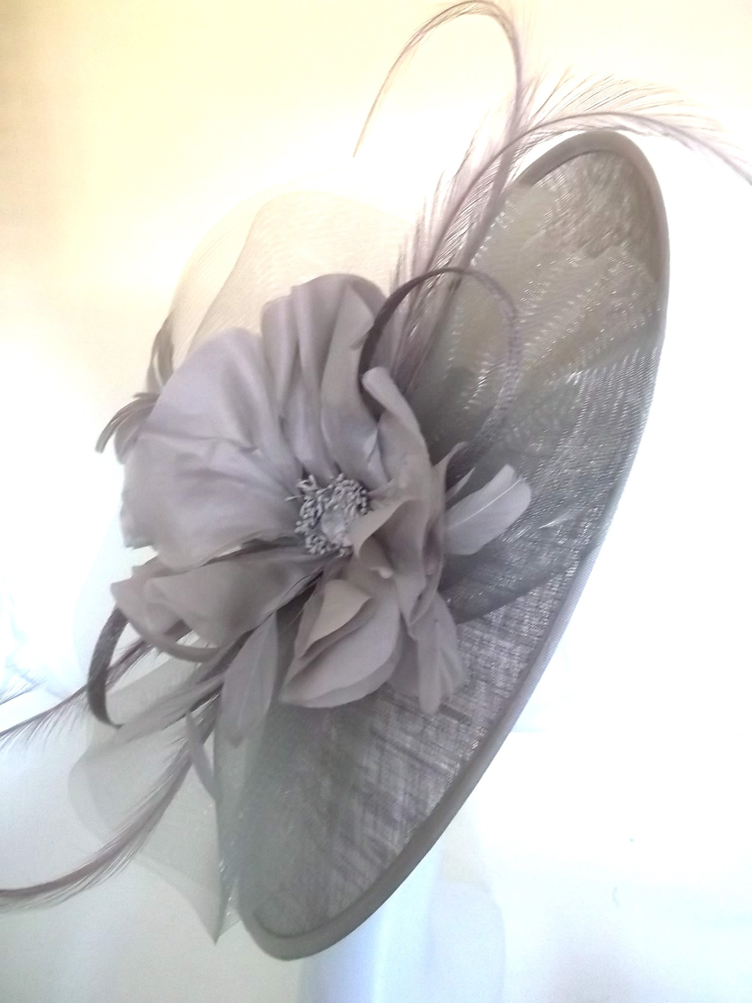 d0048aa9fc0a1 Snoxell Gwyther - Occasion Hat (Taupe) - Statement Pieces | Wedding Hats