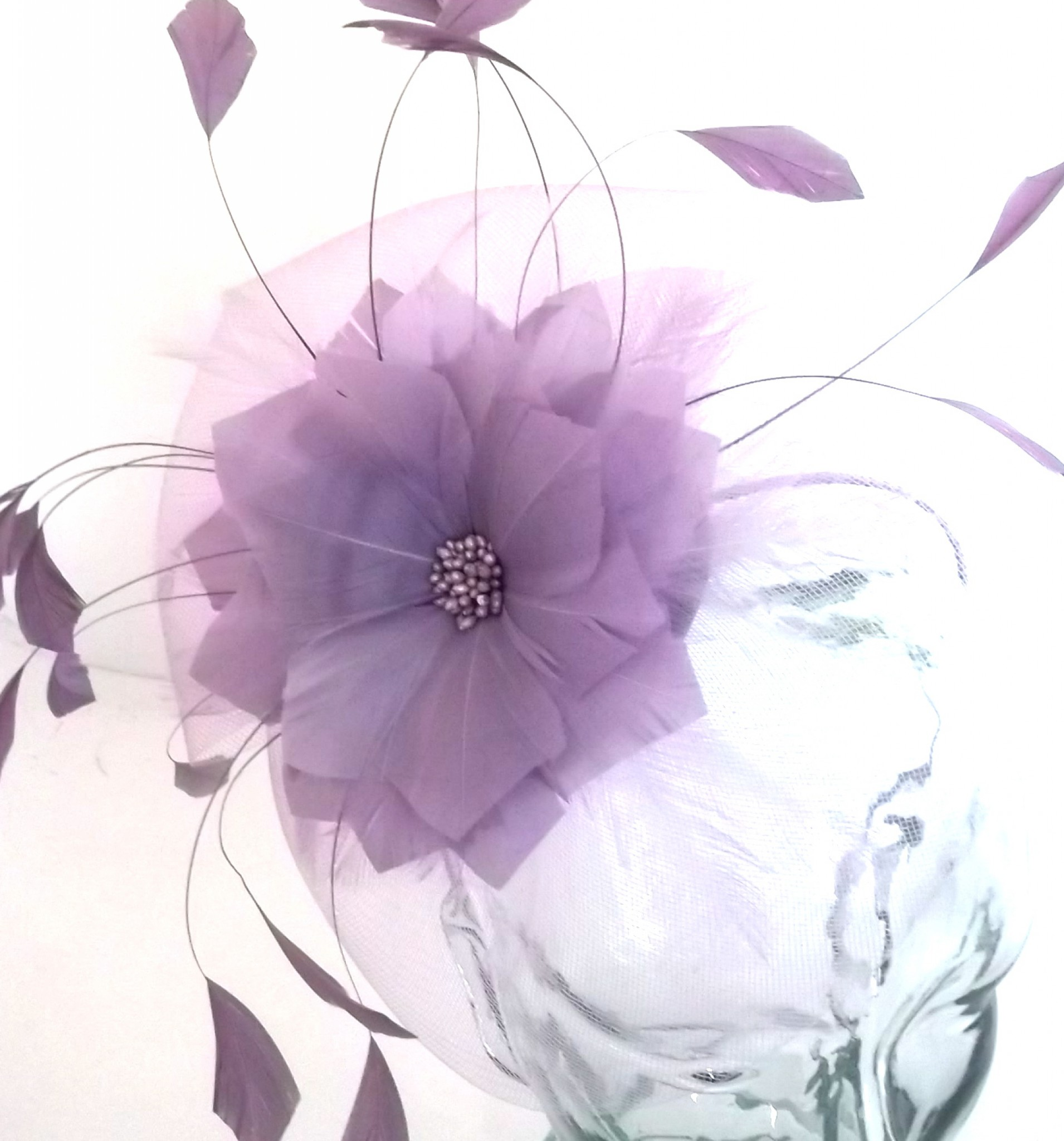 Snoxell Gwyther - Fascinator (Lilac) - Fascinators  3ae81d00a51