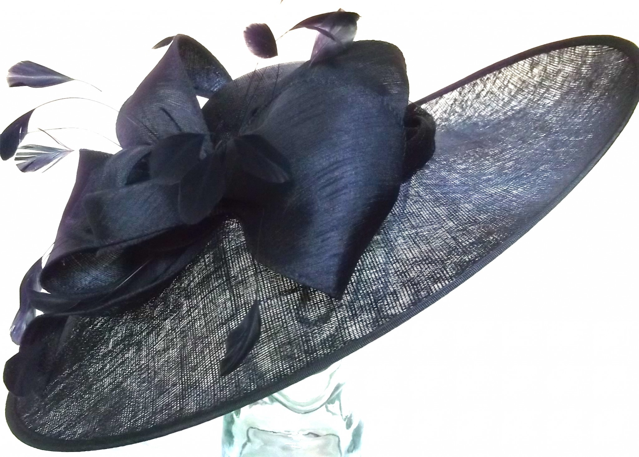 Snoxell Gwyther - Occasion Hat (Navy) - Occasion Hats  5d78a189440